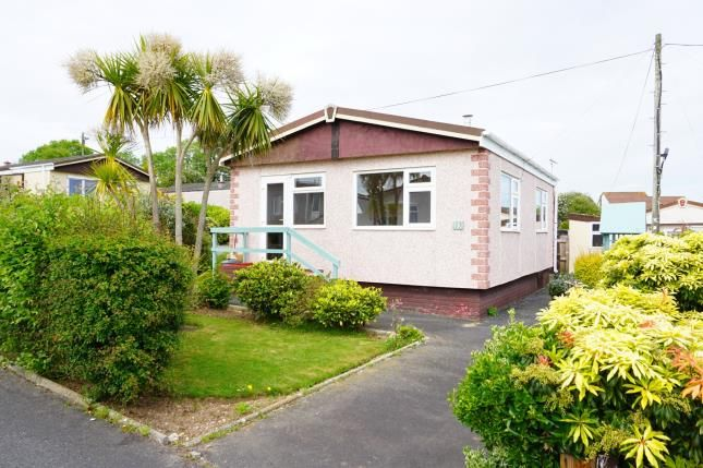 Thumbnail 1 bed mobile/park home for sale in Buckler Village, St Austell, Cornwall
