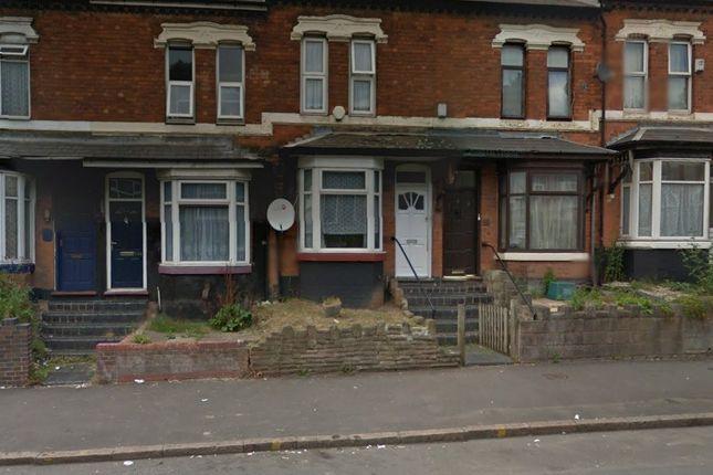 Thumbnail Terraced house for sale in Warwick Road, Tyseley, Birmingham