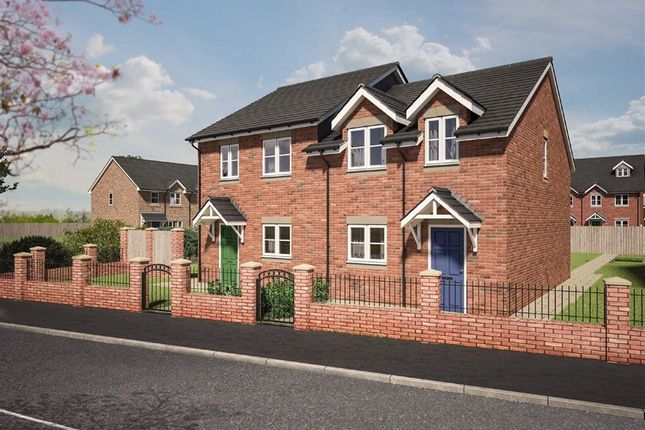 Thumbnail Semi-detached house for sale in Plot 3 Dolforgan View, Kerry, Newtown, Powys