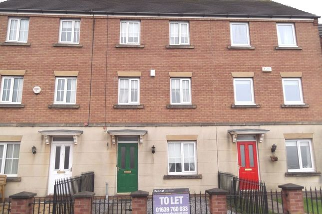 Thumbnail Town house to rent in Mariners Quay, Port Talbot