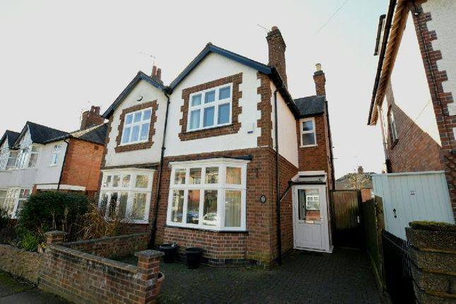 Thumbnail Semi-detached house for sale in Upperton Road, Leicester