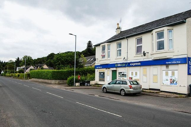 Thumbnail Flat to rent in Victoria Buildings, Clynder, Helensburgh