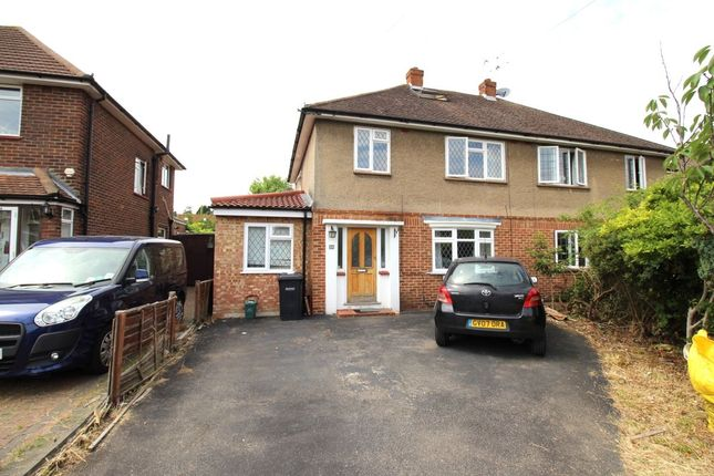 Thumbnail Semi-detached house to rent in The Crescent, Egham