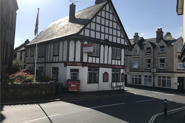 Thumbnail Pub/bar for sale in The Bell Inn, Cross Street, Moretonhampstead, Devon