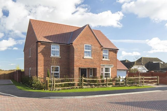 "Thumbnail Detached house for sale in ""Winstone"" at Torry Orchard, Marston Moretaine, Bedford"