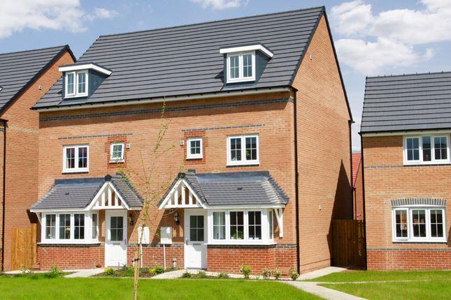 "Thumbnail Terraced house for sale in ""Woodbridge"" at Bruntcliffe Road, Morley, Leeds"