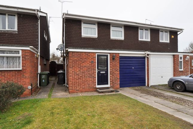 Thumbnail Semi-detached house for sale in Barrow Close, Winyates East, Redditch