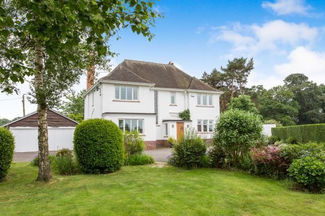 Thumbnail Detached house for sale in Park, Lane, Sandbach, Cheshire