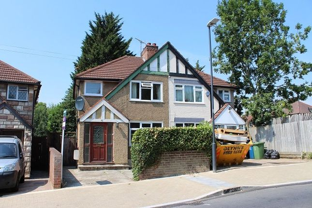 Thumbnail Semi-detached house to rent in Windsor Road, Harrow Weald