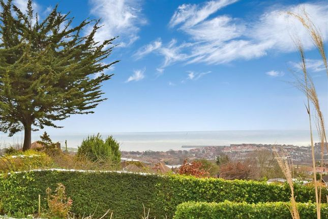 Thumbnail Detached bungalow for sale in Dover Road, Folkestone, Kent
