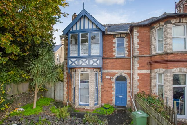 Thumbnail Semi-detached house for sale in Torquay Road, Newton Abbot