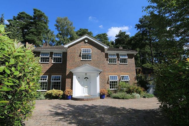 Thumbnail Detached house for sale in Castle Road, Camberley, Surrey
