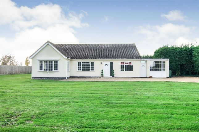 Thumbnail Detached bungalow for sale in Meadow Road, Milking Nook, Peterborough, Cambridgeshire