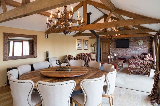 Thumbnail Farmhouse to rent in Blackwoods, Easingwold, York