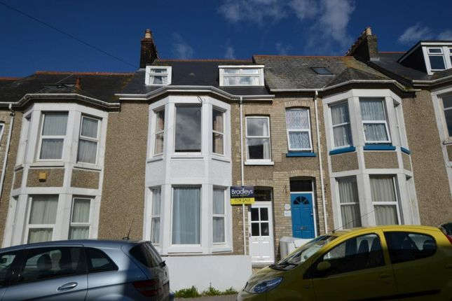 Thumbnail Terraced house for sale in Grosvenor Avenue, Newquay, Cornwall