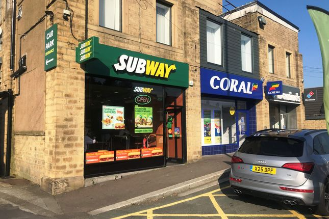 Thumbnail Retail premises for sale in Wakefield Road, Moldgreen, Huddersfield