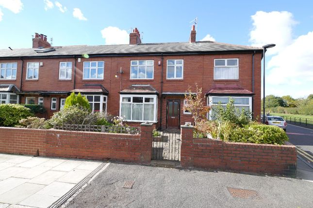 Thumbnail 3 bed terraced house to rent in Wolveleigh Terrace, Gosforth, Newcastle Upon Tyne