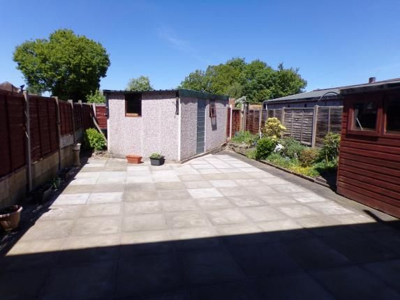 Rear Garden of Birchfield Way, Yew Tree, Walsall WS5