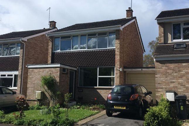 Thumbnail Detached house for sale in Longacre Close, Taunton