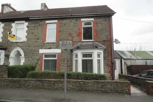Thumbnail Property to rent in Rhymney Terrace, Caerphilly