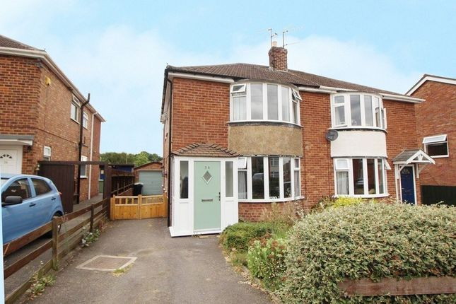 Thumbnail Semi-detached house to rent in Denton Avenue, Grantham