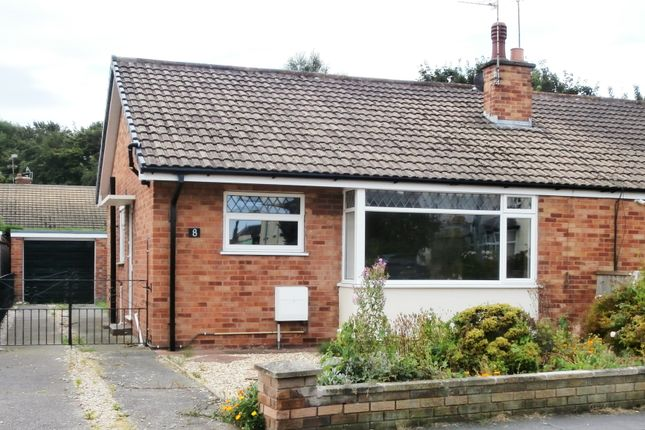 Thumbnail Semi-detached bungalow to rent in South Parade, Pensarn, Conwy