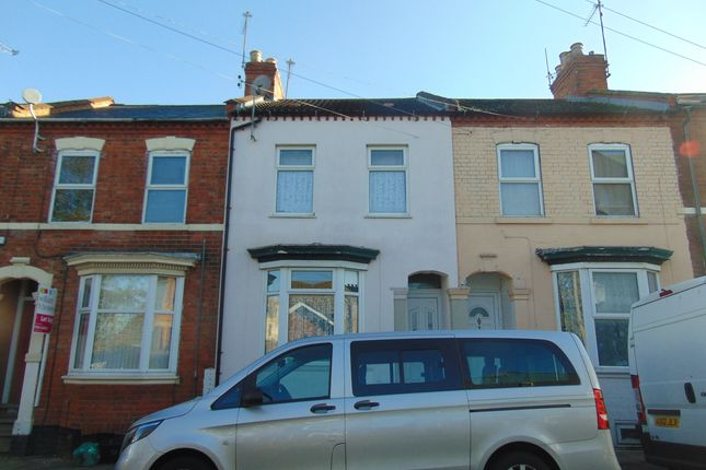 Thumbnail Terraced house for sale in Connaught Street, Northampton