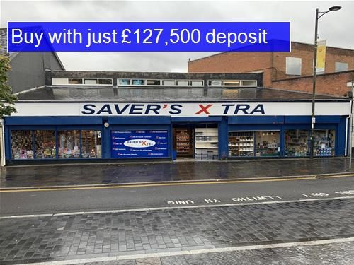 Thumbnail Retail premises for sale in High Street, Bargoed