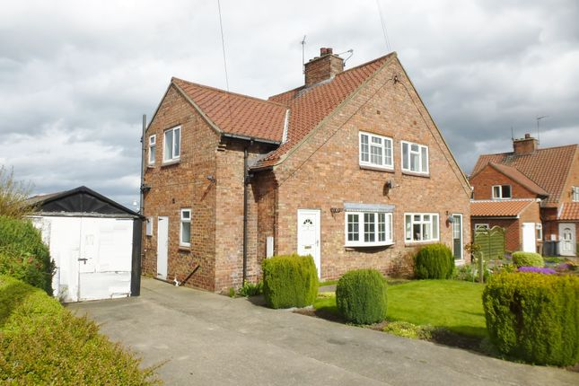 Thumbnail Semi-detached house for sale in Rudgate Grove, Whixley, York