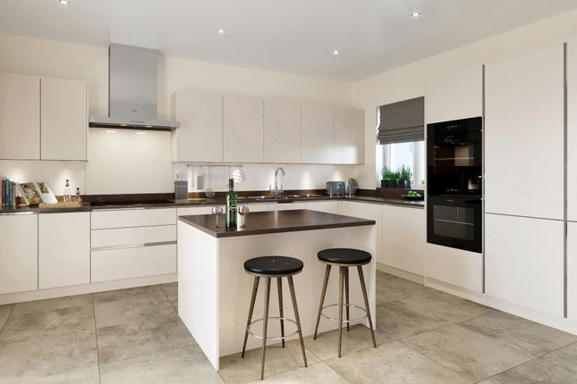 Thumbnail Detached house for sale in Plot 40, The Aldreth At Birnam Mews, Oak Road, Tiddington, Warwickshire