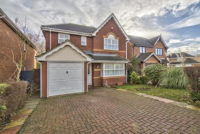 Thumbnail Detached house for sale in Knipe Close, Stukeley Meadows, Huntingdon, Cambs