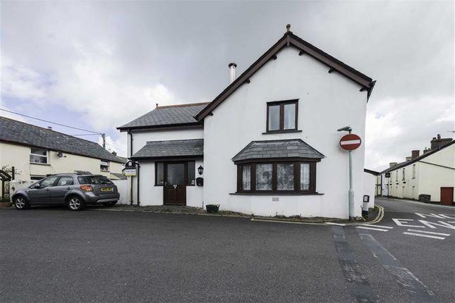Thumbnail End terrace house for sale in The Square, Hartland, Bideford, Devon