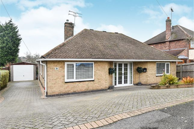 Thumbnail Detached bungalow for sale in Muswell Road, Mackworth, Derby