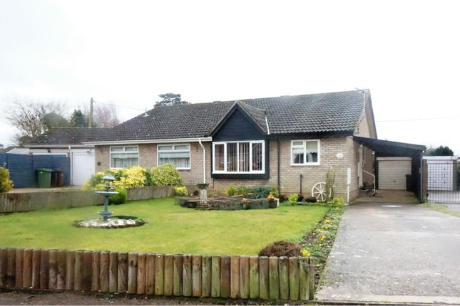 Semi-detached bungalow for sale in Bramley Road, Diss