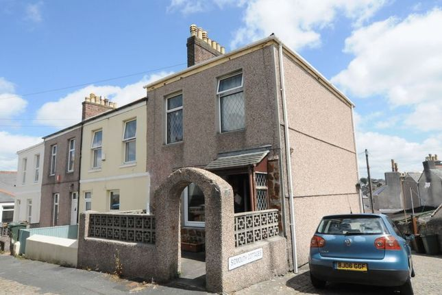 Thumbnail End terrace house for sale in Mutley, Plymouth