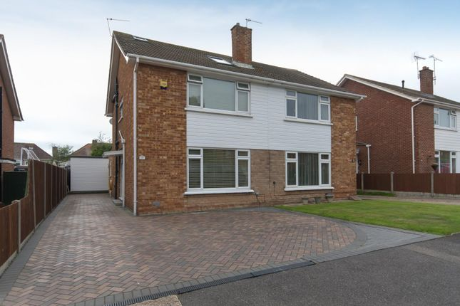Thumbnail Semi-detached house for sale in Kennedy Drive, Walmer, Deal