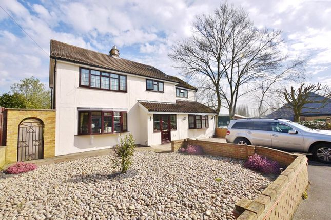 Thumbnail Detached house for sale in Walker Avenue, Fyfield, Ongar, Essex