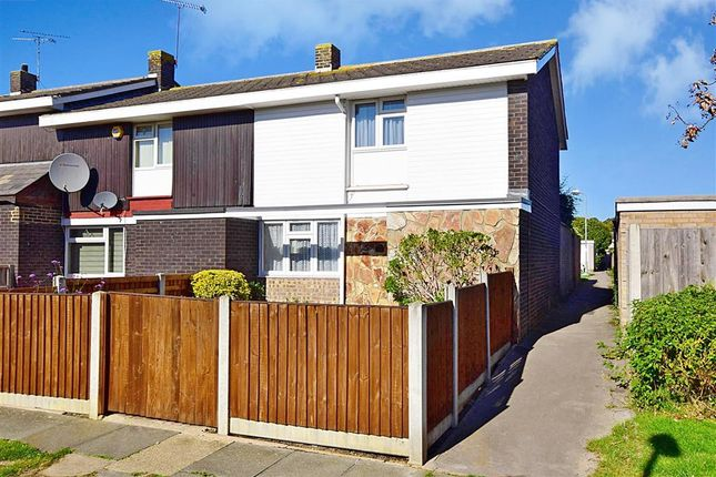 Thumbnail End terrace house for sale in Woolmer Green, Lee Chapel North, Essex