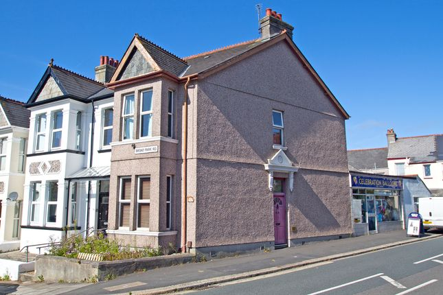 Thumbnail End terrace house for sale in Broad Park Road, Plymouth