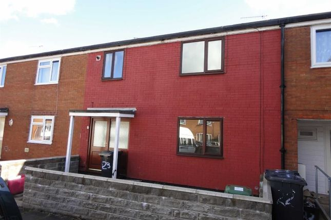 Thumbnail Terraced house to rent in Hanbury Close, Cwmbran