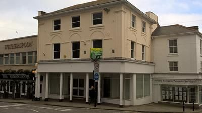 Thumbnail Retail premises for sale in 9 Market Place, Penzance, Cornwall