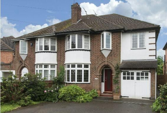 Thumbnail Semi-detached house for sale in Warwick New Road, Leamington Spa