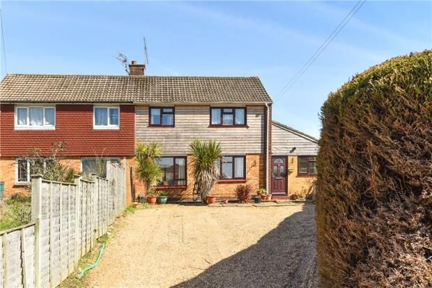 Thumbnail Semi-detached house for sale in Barnes Road, Frimley, Camberley