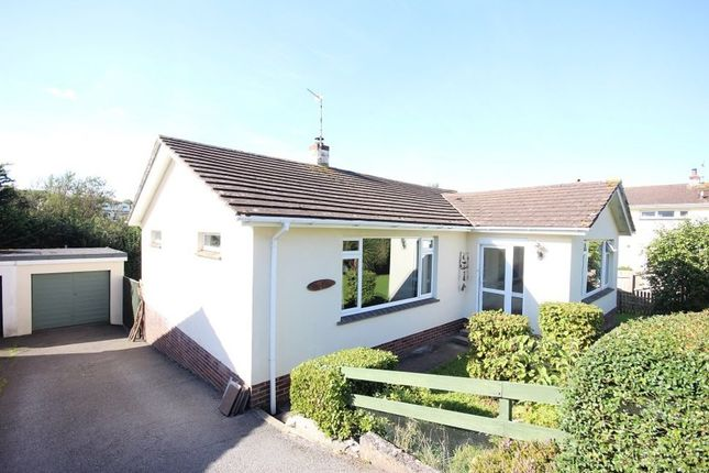 Thumbnail Detached bungalow for sale in Orchard Close, Ogwell, Newton Abbot