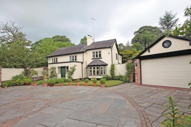Thumbnail Detached house for sale in Alderley Road, Over Alderley, Macclesfield, Cheshire