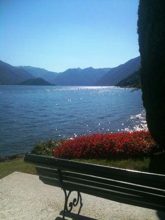 Lakefront Garden of Bellagio, Lake Como, Bellagio, Como, Lombardy, Italy