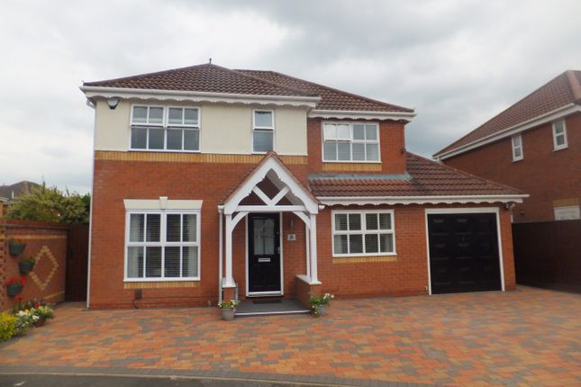 Thumbnail Detached house for sale in Bishops Meadow, Four Oaks, Sutton Coldfield