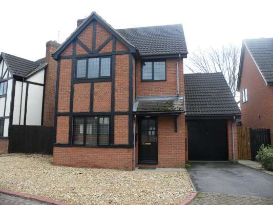 Thumbnail Detached house to rent in Brookside, Gunthorpe, Peterborough