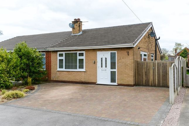 Thumbnail Semi-detached bungalow to rent in The Warings, Heskin, Chorley
