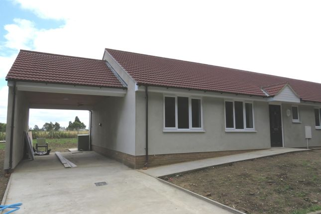 Thumbnail Semi-detached bungalow for sale in Bobbys Way, Stanton, Bury St. Edmunds